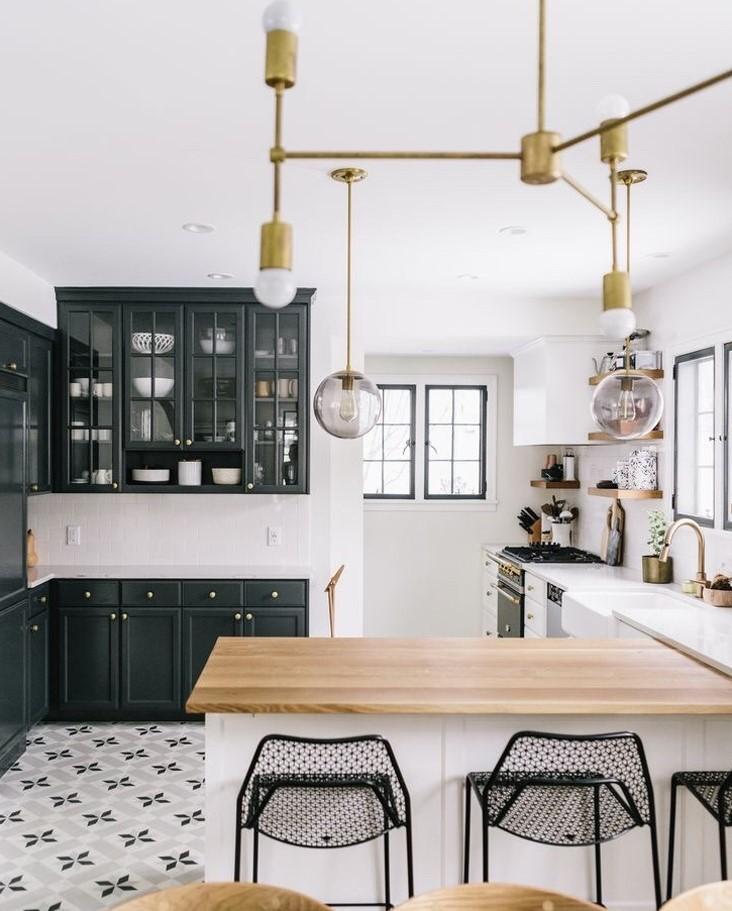 tendance cuisine blanche 2018 id es d coration id es. Black Bedroom Furniture Sets. Home Design Ideas